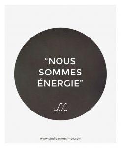 nous sommes energie